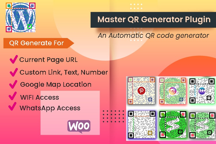 QR generator Plugin for WordPress